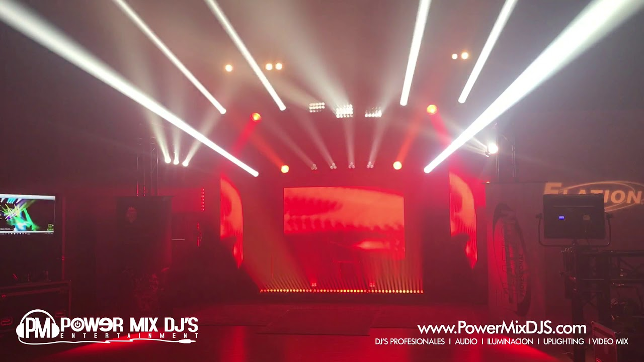 Adj Expo Elation Lighting Show In Madison Wi Full Comp 8 20 2017