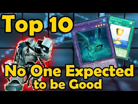 Top 10 Cards No One Expected to be Good in YuGiOh