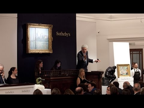 Impressionist Sales Break Record for Any Auction Ever Held in London  | Sotheby's