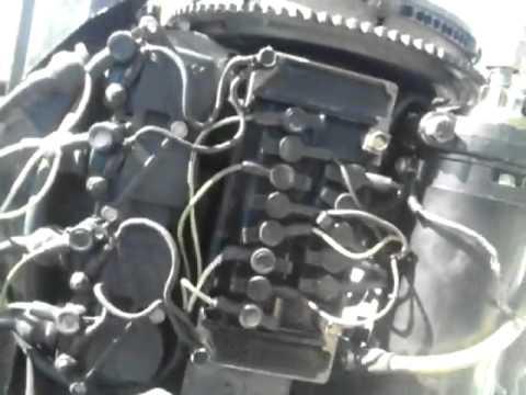Wire Loom 50 Hp Bluband Mercury Engine Motor Youtube