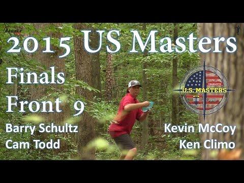 The Disc Golf Guy - Vlog #330 - US Masters Finals - B Schultz, K McCoy, K Climo, C Todd