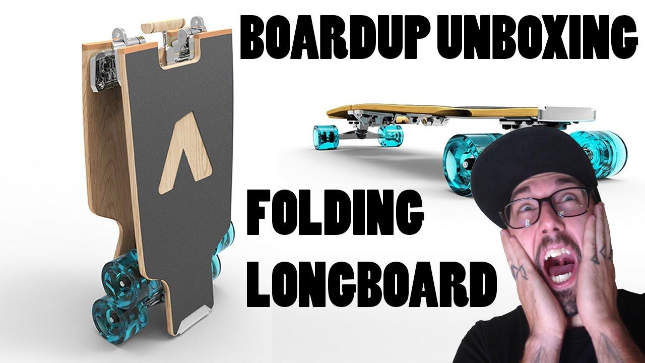 how to make a folding longboard