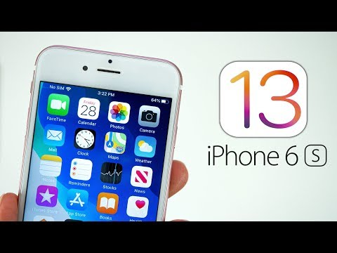 iOS 13 on iPhone 6S - The OLDEST iPhone Shines!
