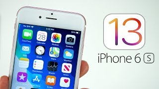 iOS 13 on iPhone 6S - The OLDEST iPhone Shines! Video