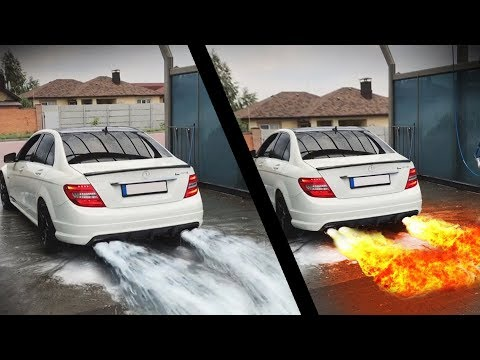 Cars Spitting WATER and FLAMES! PART 2! UNBELIEVABLE