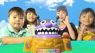 アンパンマン がぶがぶバイキンじょう おもちゃ anpanman toy thumbnail