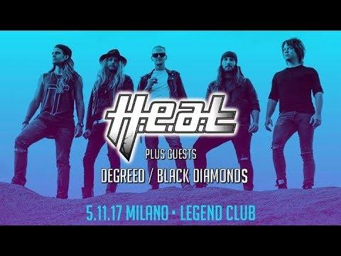 H.e.a.t - Live In Milano 2017 ( Full Concert )