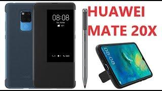 Huawei Mate 20X: распаковка, фирменный чехол, общее представление