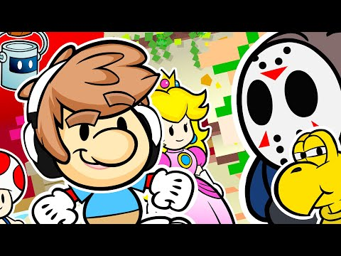 Paper Mario: Color Splash Animation! (ZackScottGames Animated)