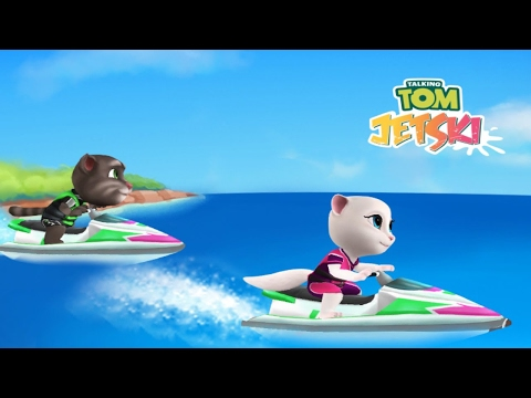 talking-tom-jetski-ipad-gameplay-#2
