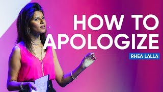 The Art and Craft of Apology | Rhea Lalla