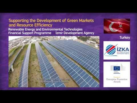 2016 EEPA shortlisted project: Category 5 Izmir Development Agency (Turkey)