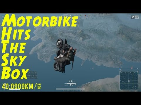 PUBG - Learning To Fly A Motorbike