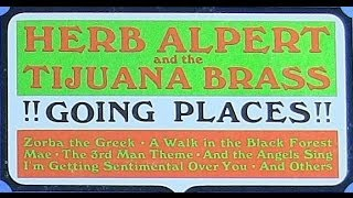 """1965"" ""Going Places"" (Complete L.P.) *Herb Alpert & the Tijuana Brass (Vinyl)"
