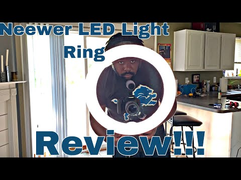 Neewer Light Ring Unboxing & Hands On!!!