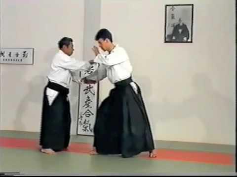 Morihiro Saito Sensei. Katate Dori