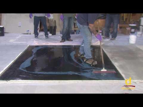 How to install metallic epoxy coatings in your garage and basements?