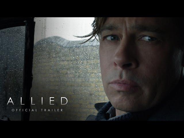 Se estrena 'Allied' la película del romance entre Marion Cotillard y Brad Pitt