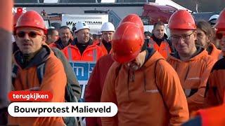 TERUGKIJKEN: Bouwprotest op het Malieveld