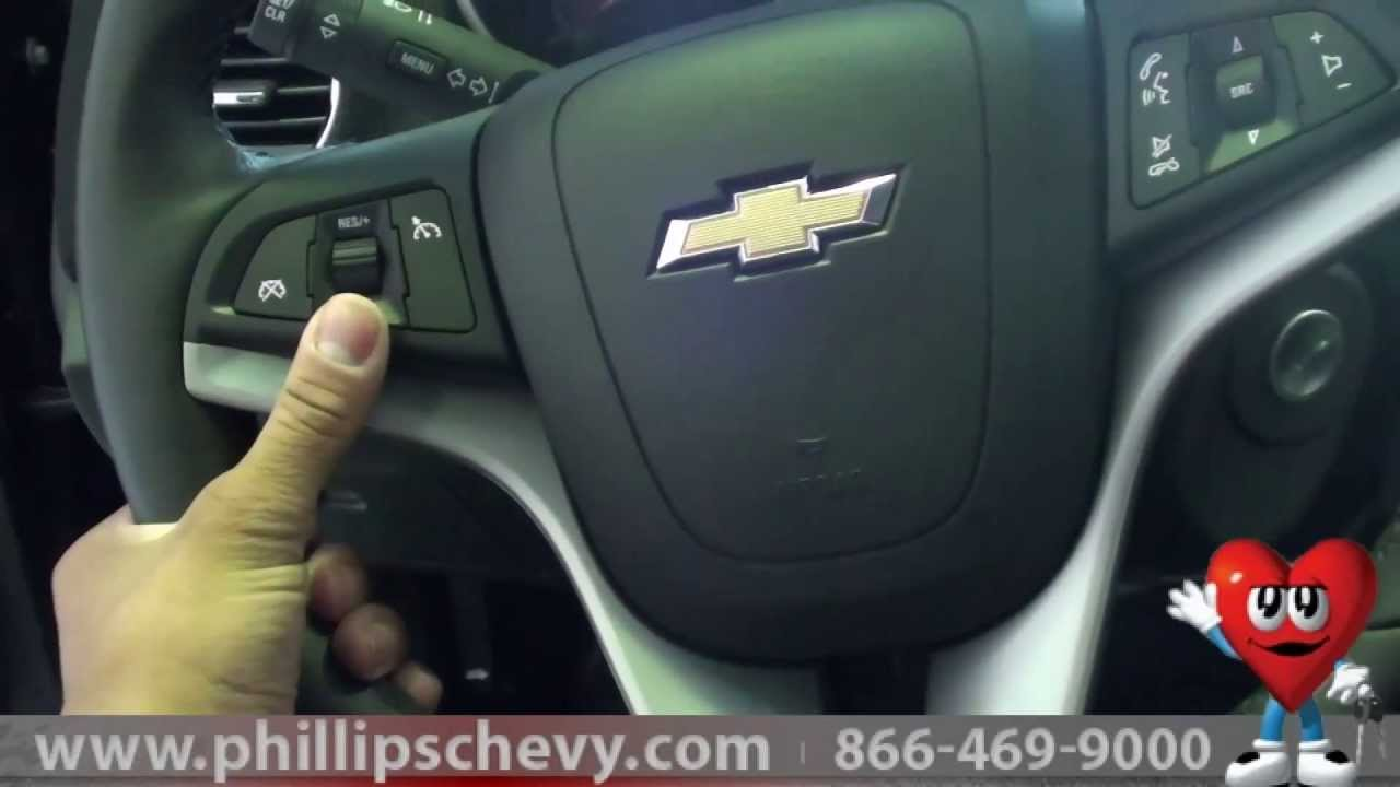 Phillips chevrolet 2013 chevy cruze steering controls demonstration chicago new car dealer youtube