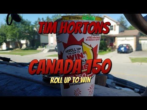 Tim Hortons Canada 150 Roll Up (Winner)