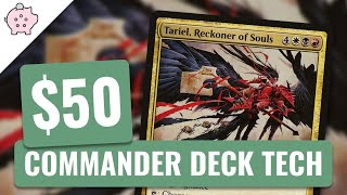 Tariel, Reckoner of Souls | EDH Budget Deck Tech $50 | Reanimator | Magic the Gathering | Commander