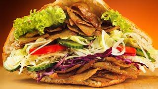 Eating 2 Döner Kebabs in 2 Minutes