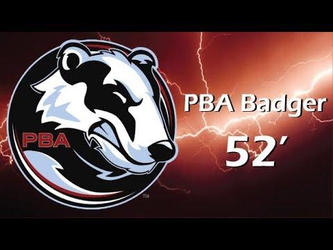 Pba Bowling Badger Oil Pattern Youtube