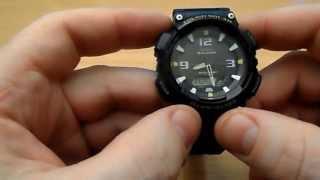 Casio Men's Sport Tough Solar AQ S810W 2AV Blue Resin Watch Review