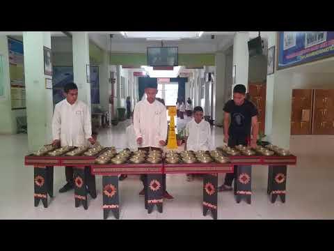 Musik tari pasambahan, team musik SMK negeri 5 padang