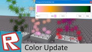 [ROBLOX Tutorial] - Custom Particles Coloring Update