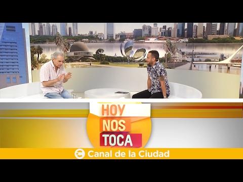 """<h3 class=""""list-group-item-title"""">Toda la información, actualidad y nos visita Hugo Arana en Hoy nos toca</h3>"""