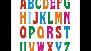 Alfabeto ditado para crianças