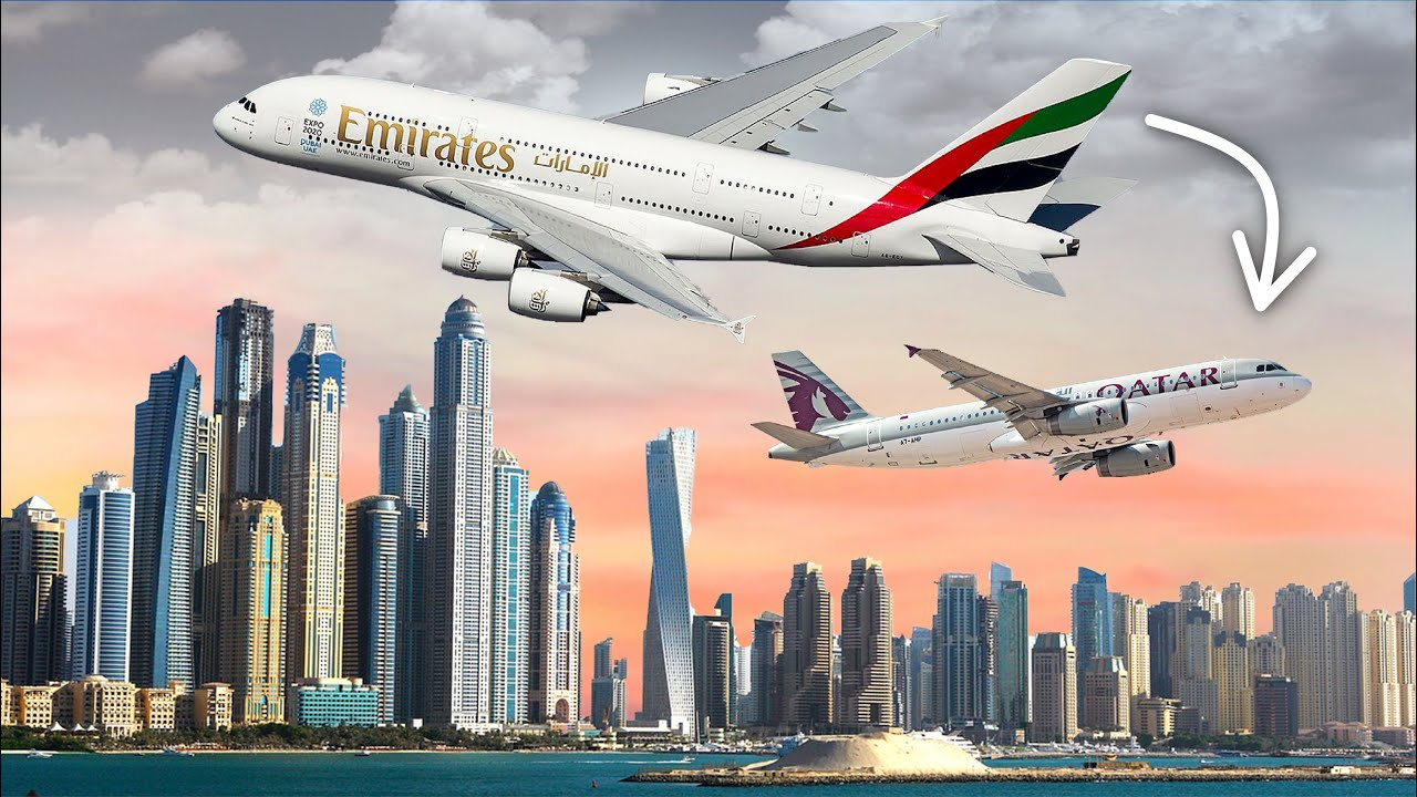 Why Emirates And Qatar Airways Are So Different