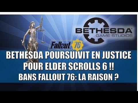 BETHESDA POURSUIVIT EN JUSTICE POUR ELDER SCROLLS 6 ! / BANS FALLOUT 76: LA RAISON ?? thumbnail