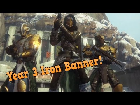 DESTINY: Rise of Iron - Year 3 Iron Banner Gear || Ghost shell, Ship and more!