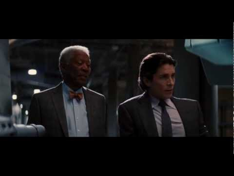 The Dark Knight Rises - Lucius introduces the Bat (HD)