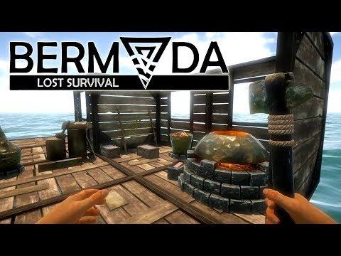 Bermuda Lost Survival #11 | Die Schmiede glüht - Eisen schmelzen! | Gameplay German Deutsch
