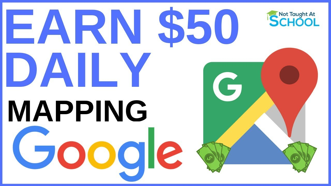 Earn Money Daily Using Google Maps [Make Money Online] - Money