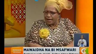 Mawaidha na Bi. Msafwari