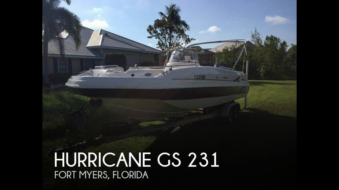 Unavailable Used 2006 Hurricane Gs 231 In Fort Myers Florida