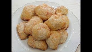 БЕЗУМНО НЕЖНОЕ,ТАЮЩЕЕ ВО РТУ ВОЗДУШНОЕ ЛАКОМСТВО из творога.Творожное печенье.Cottage cheese cookies