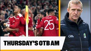 Mitten: Man Utd reaction, Taggy talks Shefflin, Stephanie Roche, Special Congress fallout | OTB AM screenshot 2
