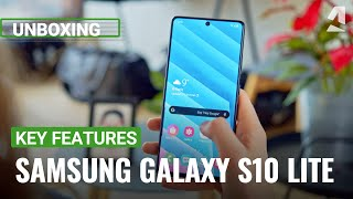Samsung Galaxy S10 Lite unboxing and key features