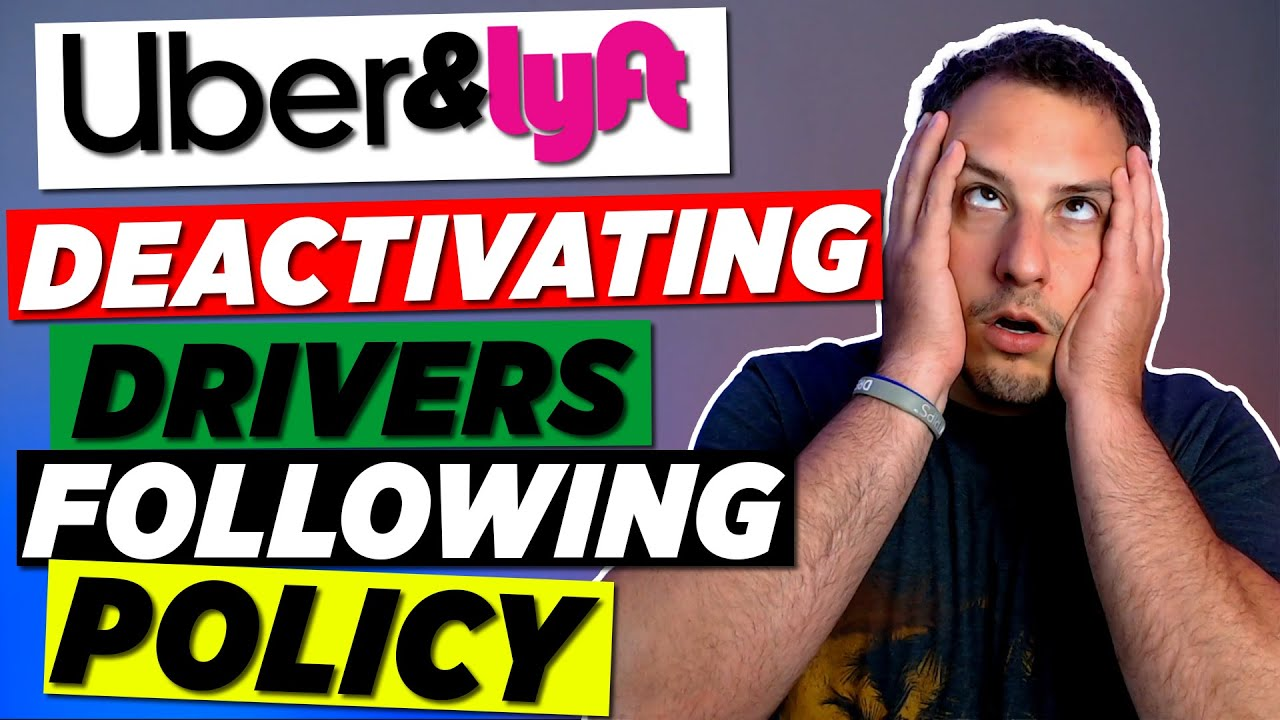 Uber And Lyft Drivers Are Getting Deactivated For Enforcing Their Own Policies...