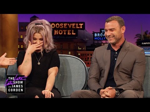 Flirting Lessons for Kelly Osbourne w Liev Schreiber & James