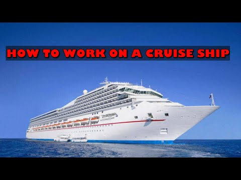 How To WORK On A Cruise Ship | Getting A Cruise Ship Job