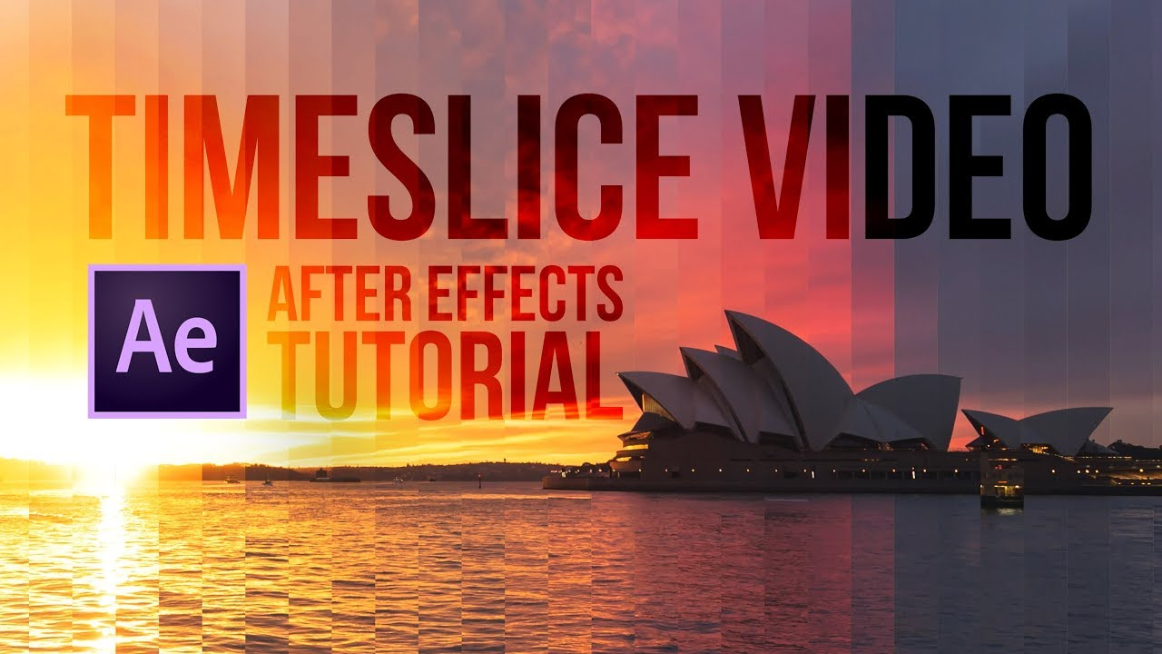 How to make a TimeSlice video with After Effects | Matthew
