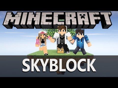 Minecraft: Skyblock #2 Koniec w/ Happy / Guga