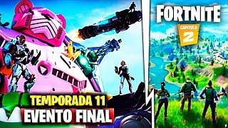 EVENTO FINAL *TEMPORADA 11* de FORTNITE en DIRECTO ¡NUEVO MAPA Y CAPITULO 2!
